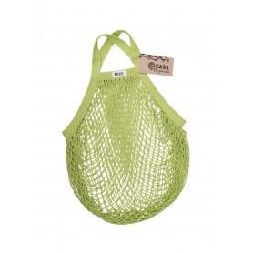 Tinklinis maišelis pirkiniams (lime spalva)
