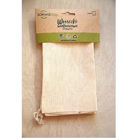 Medvilninis maišelis duonos gaminiams