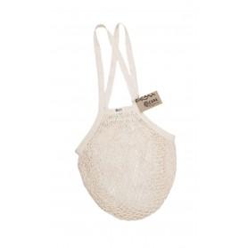 Tinklinis pirkinių krepšys su ilgomis rankenomis (Natural)
