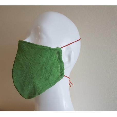 Medžiaginė veido kaukė (žalia)